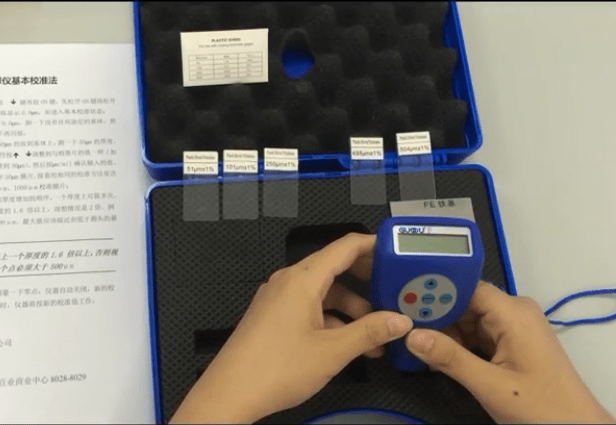 GTS six point calibration method