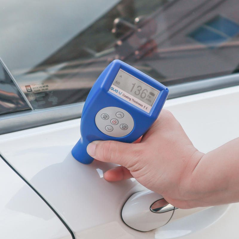 Digital  Car Paint Film Coating Thickness Gauge Digital Paint Meter Tester