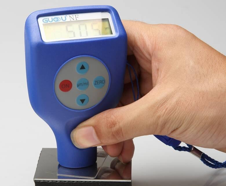 mini style digital car paint coating thickness meter gauge measurement 0-1250 microns measurement