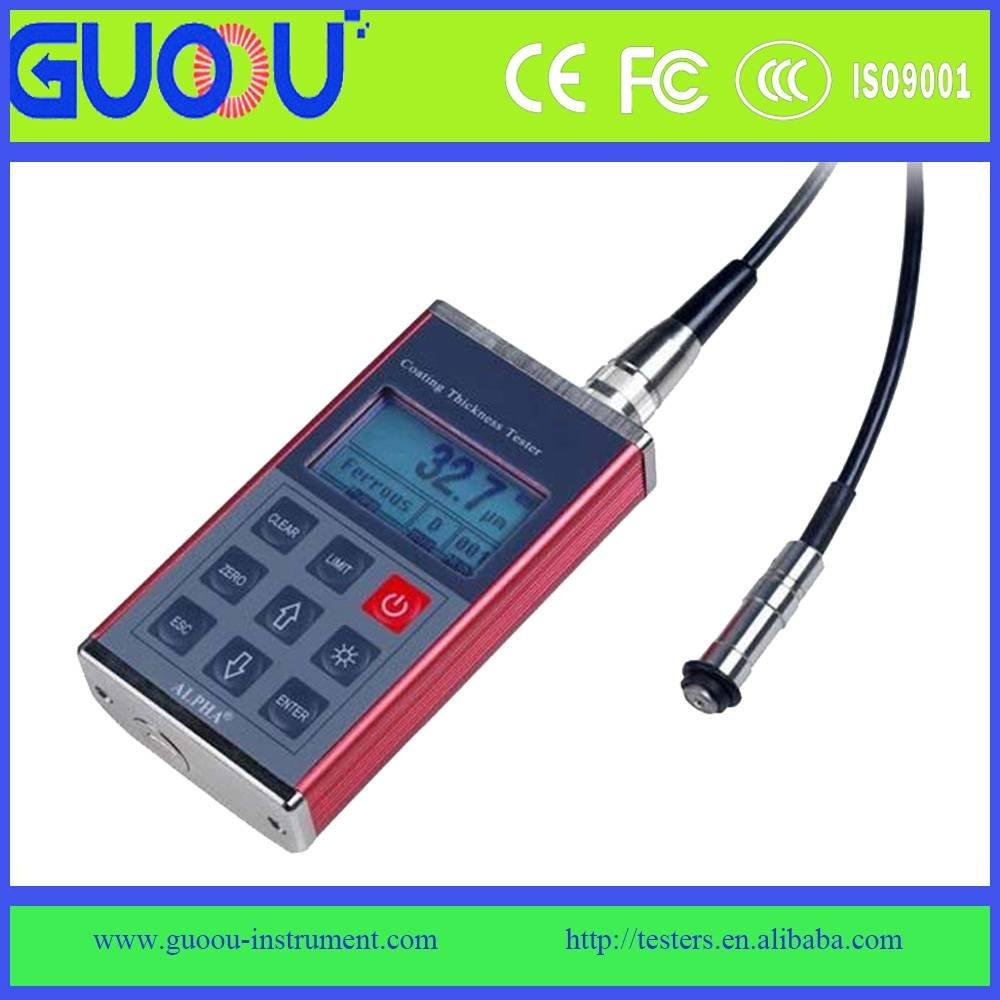 GuoOu GTS980 Magnetic or Non-magnetic Coating thickness gauge