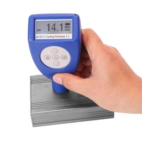 Professional paint coating thickness tester meter gauge digital kit